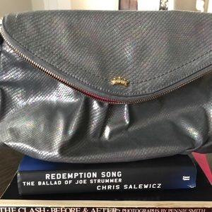 JUICY COUTURE SNAKESKIN -iridescent crossbody bag